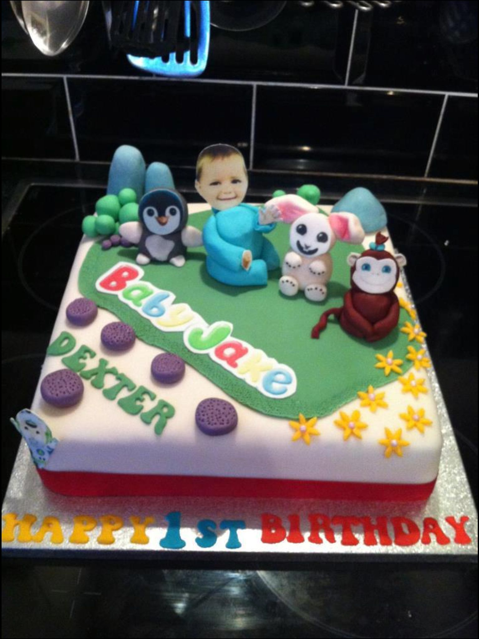 Baby Jake Cake Ava birthday Pinterest Jake cake and Cake