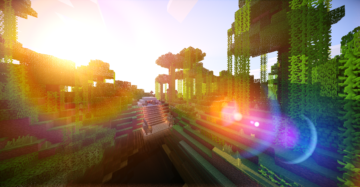 Minecraft shaders pictures album on imgur wallpapers for for Immagini minecraft hd