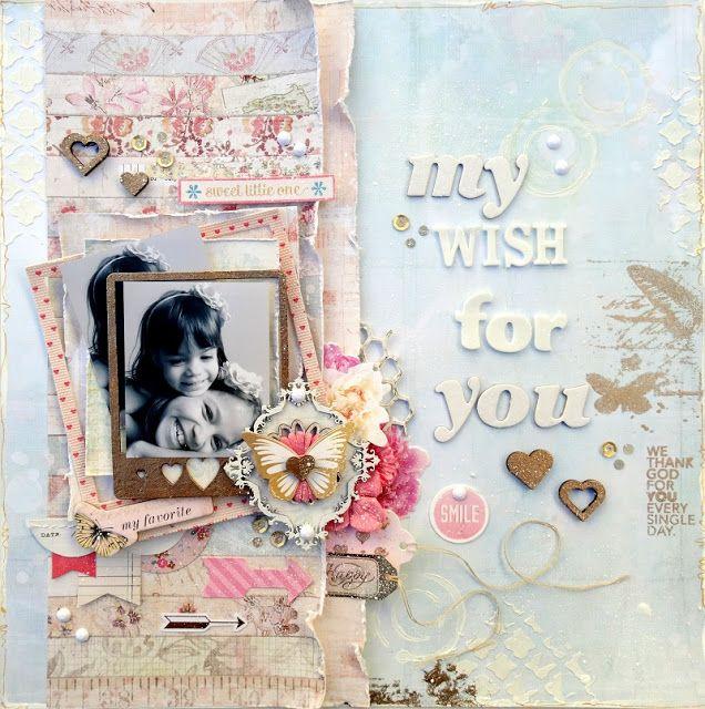 Scrap by Rita Ribeiro: Meu desejo para você....