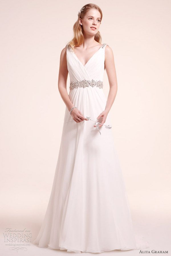 Alita Graham Fall 2012 Wedding Dresses   Graham, Chiffon gown and ...