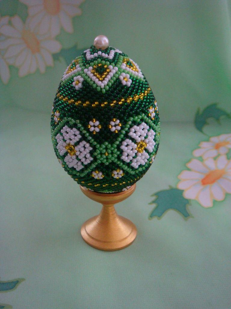 Схемы для вышивки бисером на яйце