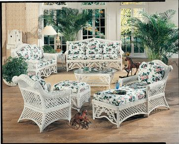 Old Fashioned Wicker Furniture Reproduction Traditional