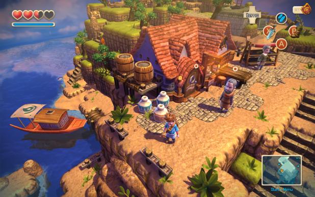 Oceanhorn Llegara A Una Consola De Nintendo Sector N Pinterest