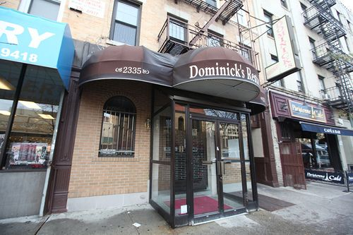 Great Pasta Big Portions At Dominick S On Arthur Avenue