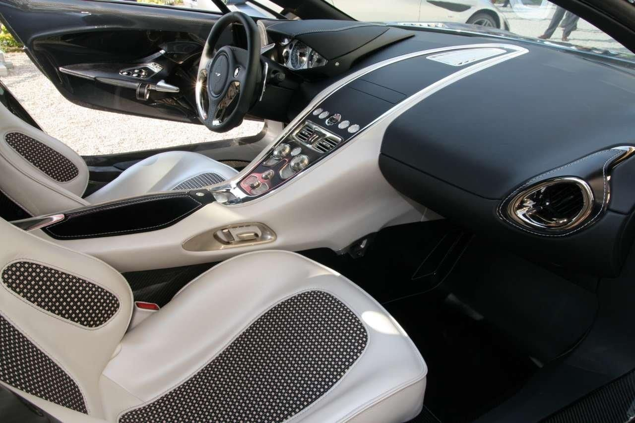 Delightful Aston Martin One 77 Interior