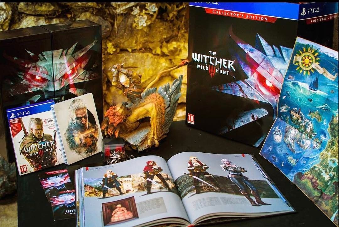 A Beautiful Collector Edition the Witcher 3 for ps4