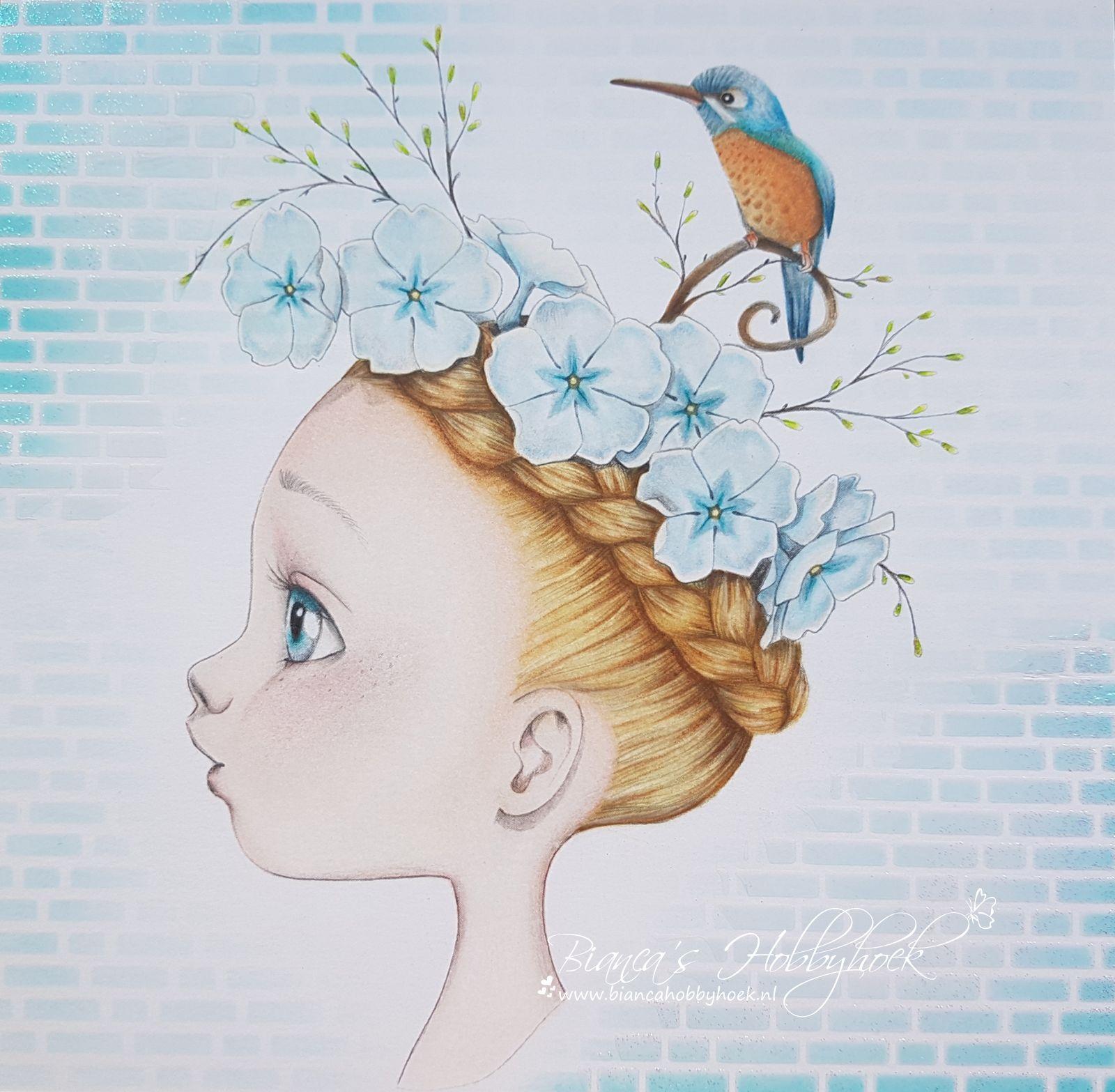 Emanuelle Colin Made By Www Biancahobbyhoek Nl Disney Tekenen Kunst Ideeen Kleur Kunst