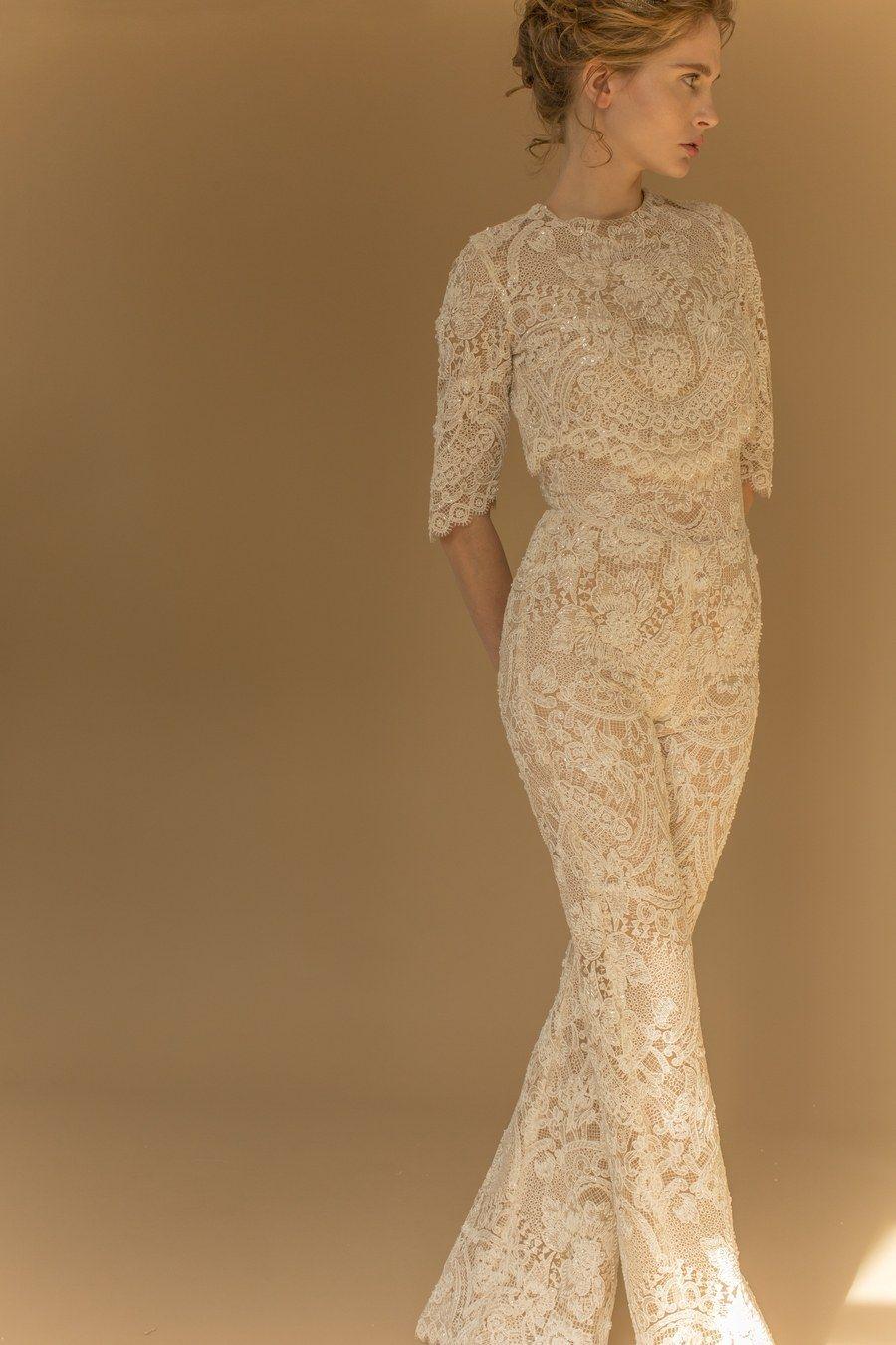 784f7953c32 Wedding jumpsuit by Francesca Miranda