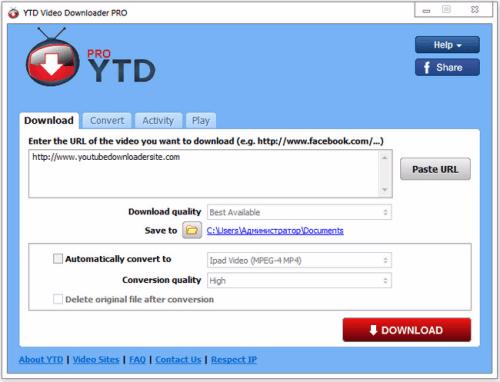 YTD Video Downloader PRO 5 9 1 Crack Full Version Download