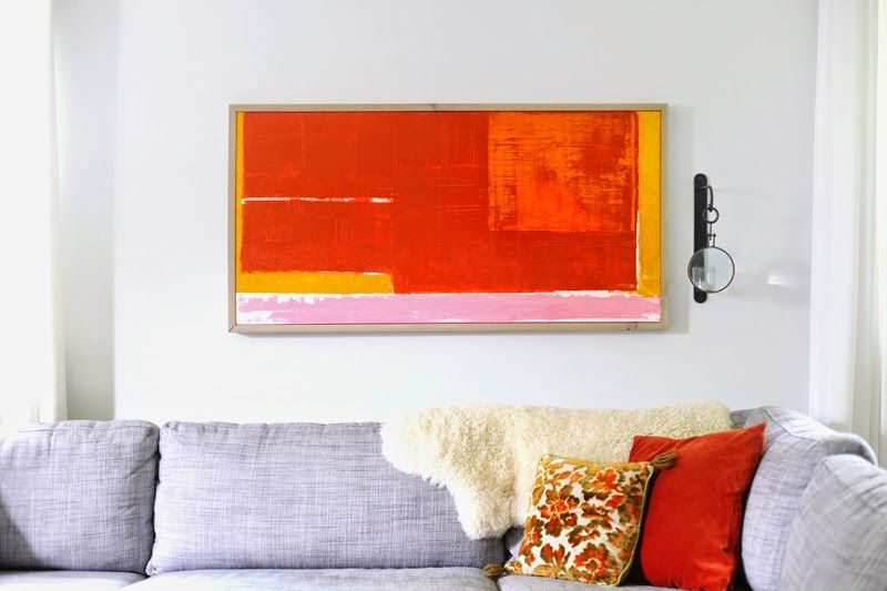 25 Easy And Inspiring Ideas For Making Your Own Inexpensive Wall Art.