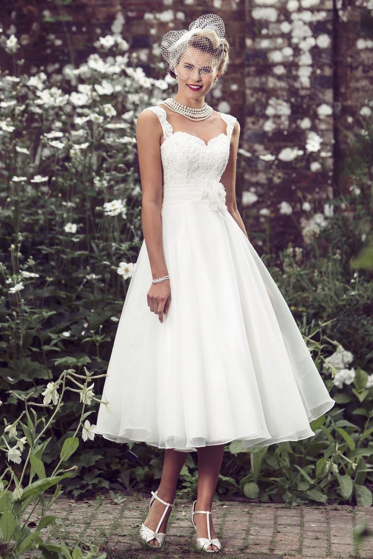 Unique style wedding dresses  Tea Length Bridal and us Style Short Wedding Dresses  Brighton