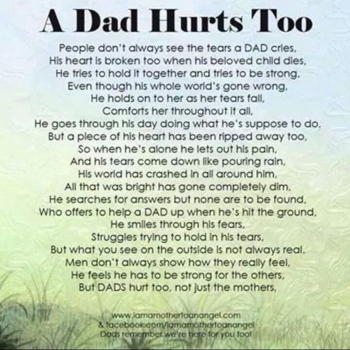 fathers matter too my angel babies anthony harrison myers