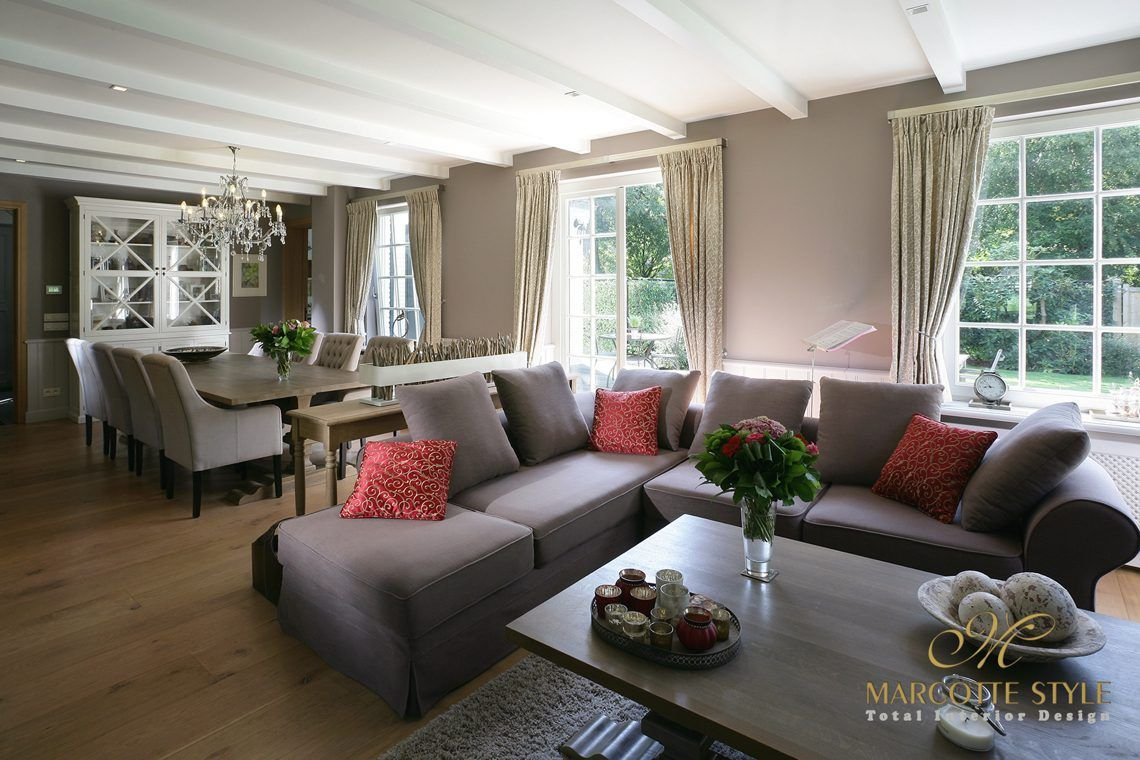 Marcotte Style interieur ontwerper - Landelijke villa Schoten - Hoog ...