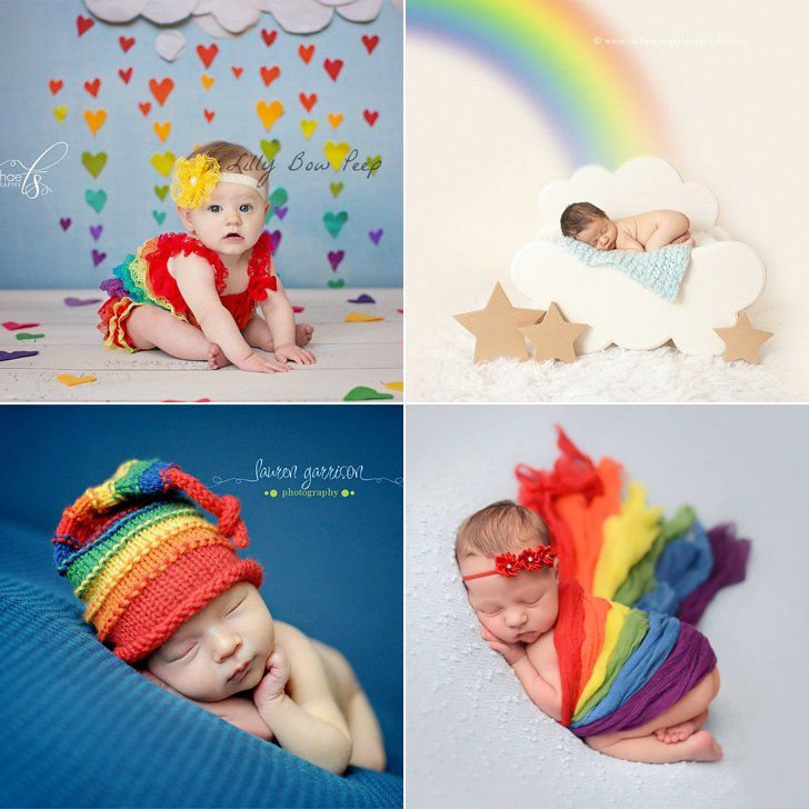 These are the sweetest rainbow baby photo ideas youve ever seen