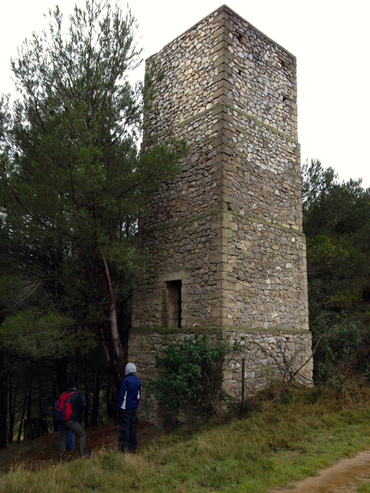 WWll Lookout tower...beautiful walk near Sainte-Hélène Chambres d'hôtes, Olonzac