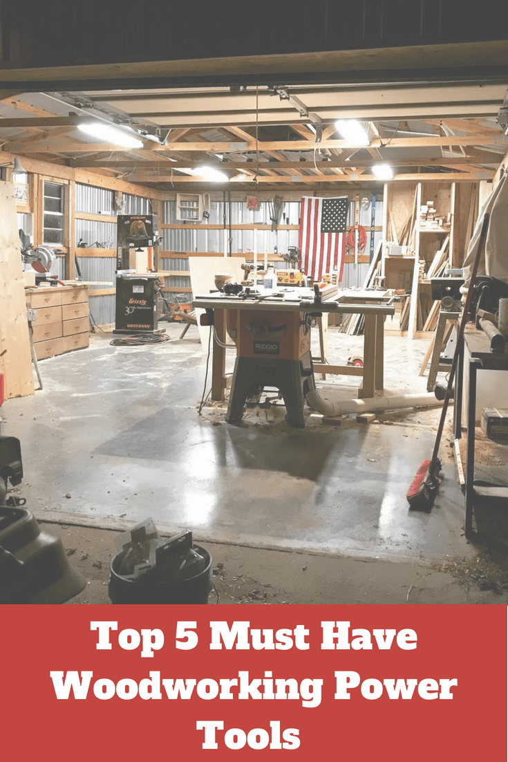 top 5 woodworking power tools for yor workshop | tools, jigs