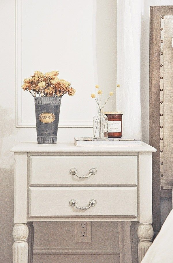 Nightstand Makeover Furniture Pottery Barn Furniture