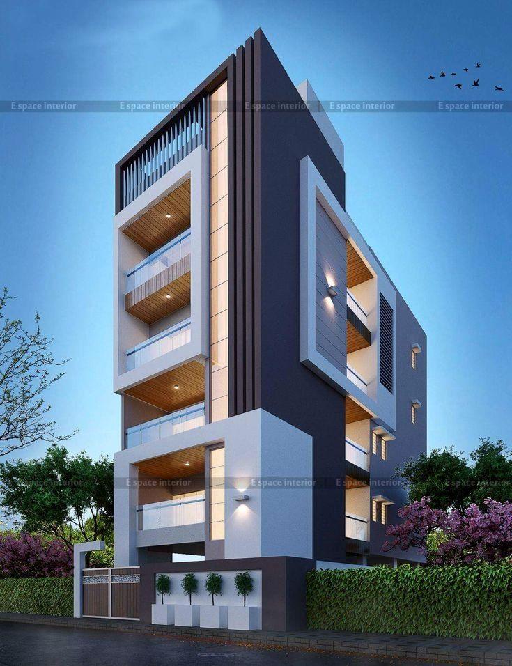 Exterior By Sagar Morkhade Vdraw Architecture 8793196382: Fachadas De Edificios Modernos, No Te Pierdas Estas Impresionantes Construcciones Repartidas Por