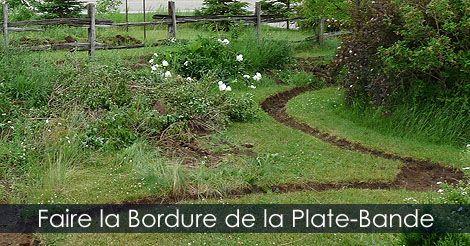 Bordure de jardin pour plate-bande - Créer un massif avec des ...