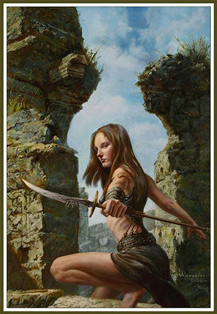 Thumbnail displaying a portion of the artwork of Rob Alexander. See more artwork by this featured artist on the fantasy gallery website.