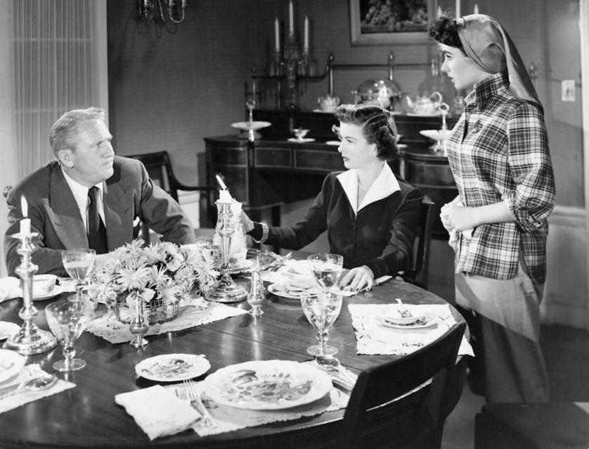 Father of the Bride (1950), Spencer Tracy, Joan Bennett, Elizabeth Taylor