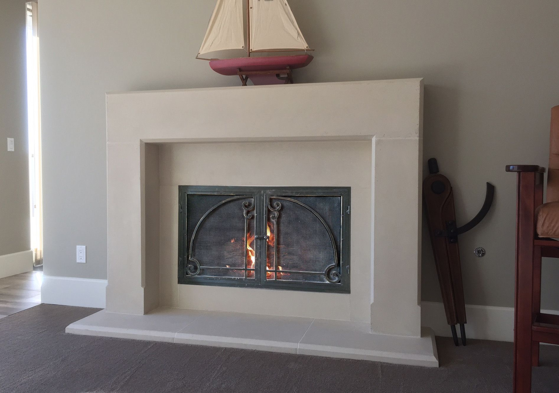 intricate precast mantle and surround fireplaces pinterest