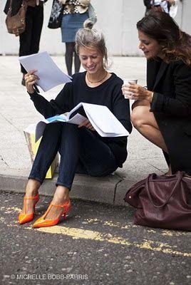 Womens Fashion style icon. Sarah Harris. BRITISH Vogue.                                                                                                                                                                                 More