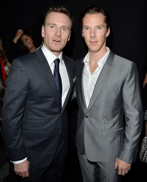 A Fassbender / Cumberbatch Dance-Off | I guess you could say