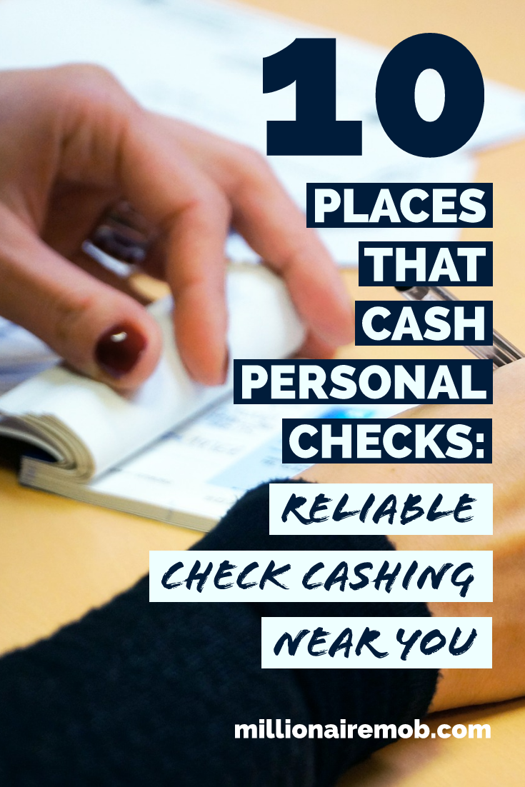 10 Places That Cash Personal Checks Find Reliable Check Cashing Payday Loans Online Investing Money Payday Loans