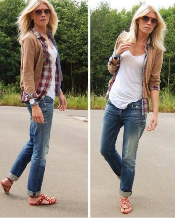 flat sandals for skinny jeans fashion style