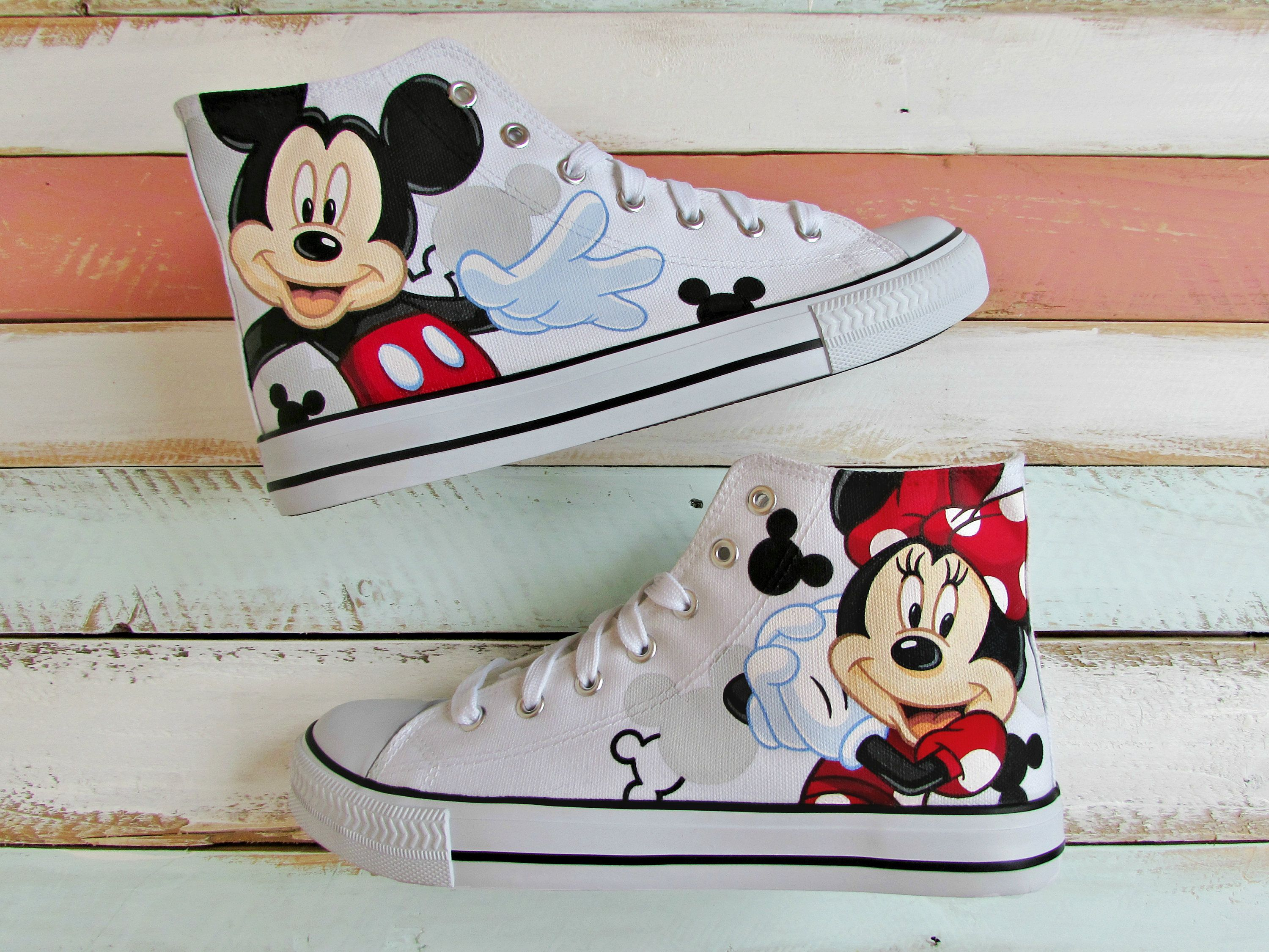 Minnie mouse shoes, Toddler converse