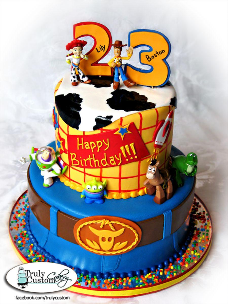 Toy Story Birthday Cake Google Search Cake Pinterest Toy