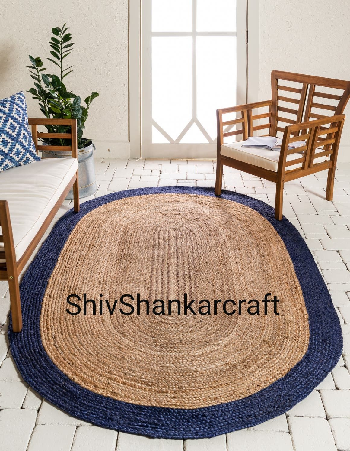 Indian Braided Jute Rug Rag Hand Woven Natural Jute Area Rugs Etsy In 2020 Natural Jute Rug Jute Area Rugs Rugs On Carpet