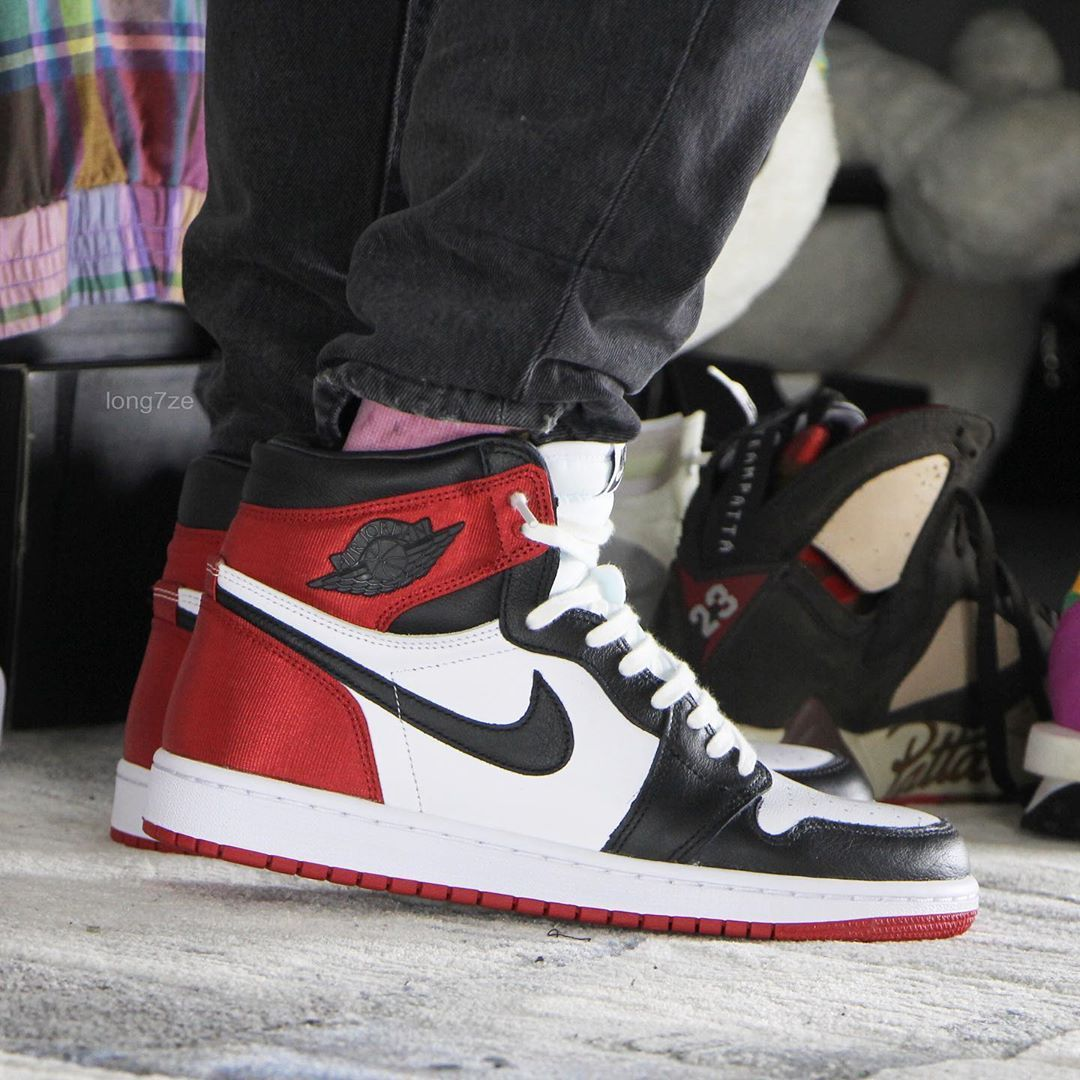 Is The Air Jordan 1 WMNS Satin Black Toe A Cop Or A Drop