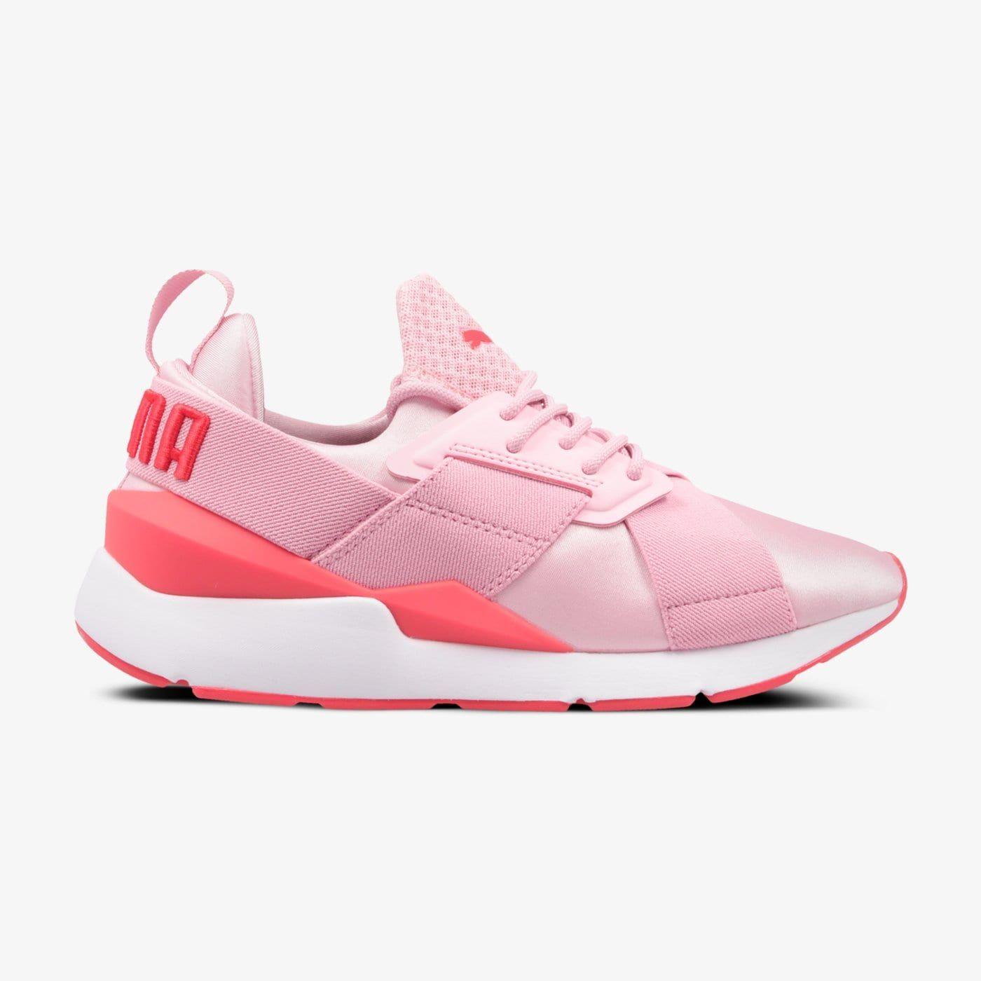 Buty Sneakersy Dla Dzieci Puma Muse Jr 36764505 Kolor Rozowy Puma Puma Fierce Sneaker Top Sneakers