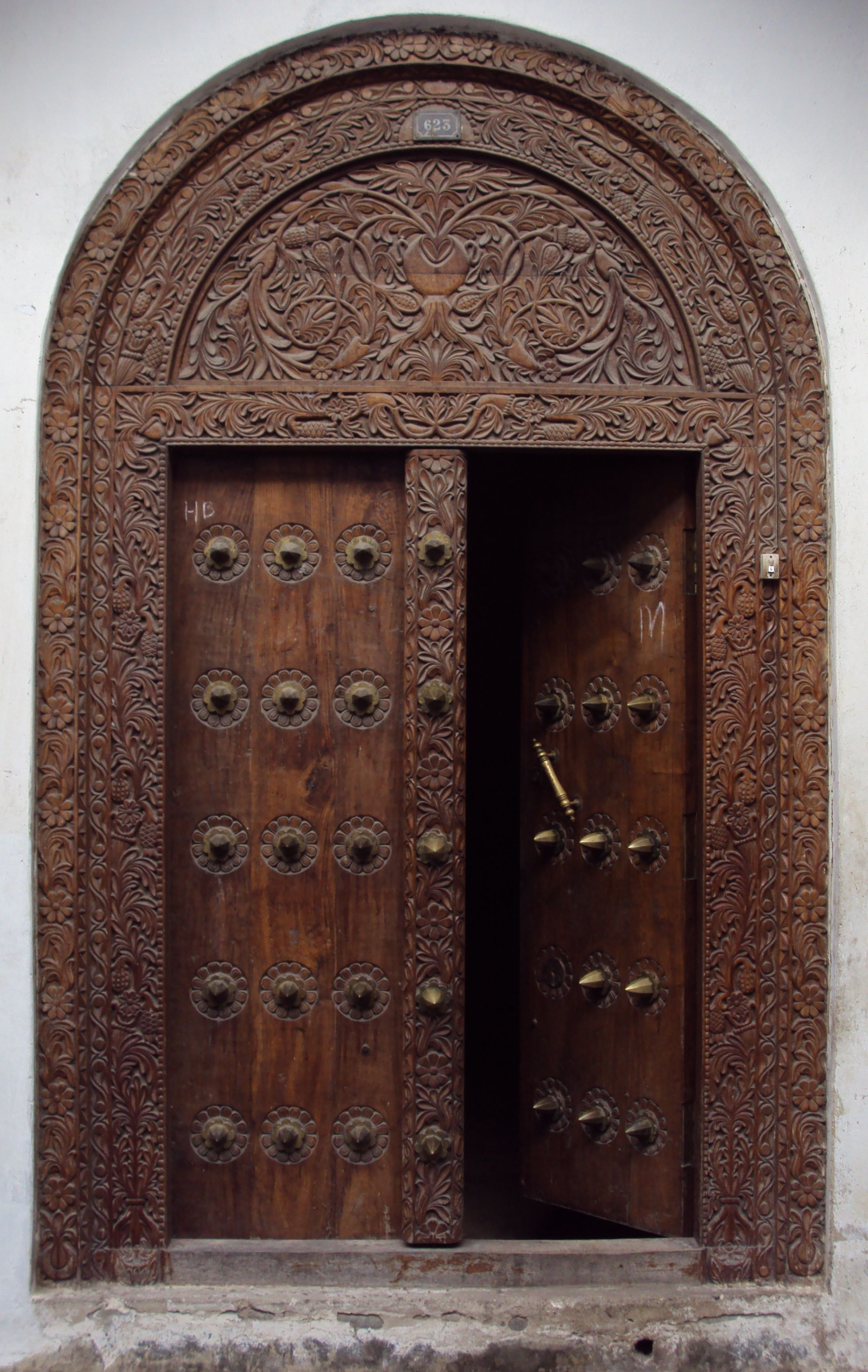 Stone Town Zanzibar Door Wedding Gift Come On