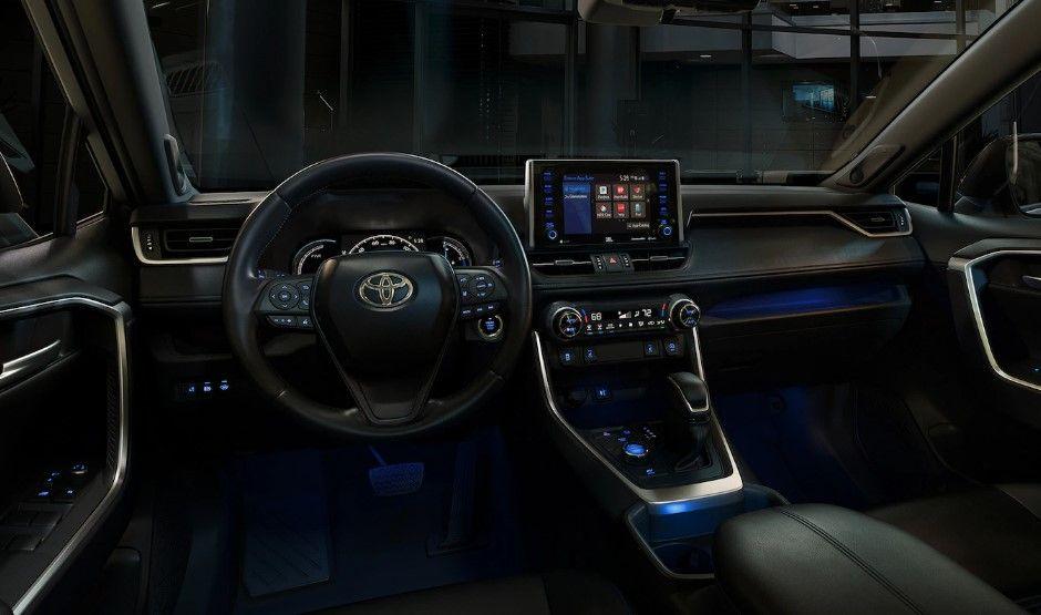 2020 Toyota Rav4 Interior Toyota Rav4 Interior Toyota Rav4 Hybrid Rav4 Interior