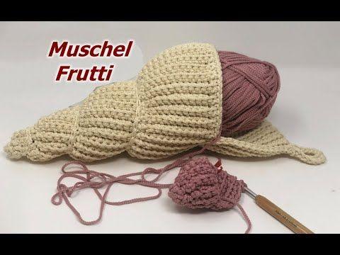 Photo of Muschel Frutti häkeln – aus ROPE
