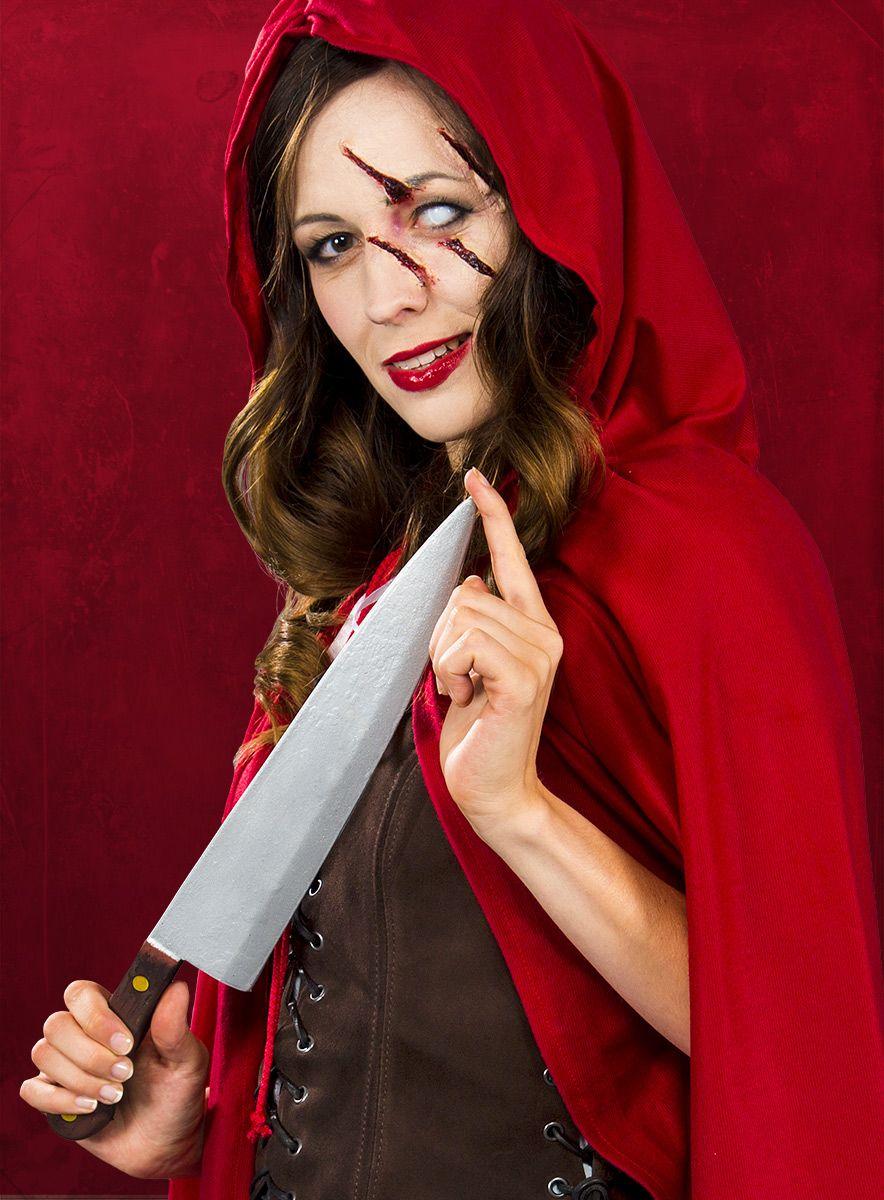 Halloween Schminktipp Horror Rotkappchen Maskworld Halloween Schminktipps Gruselig Schminken Rotkappchen Kostum