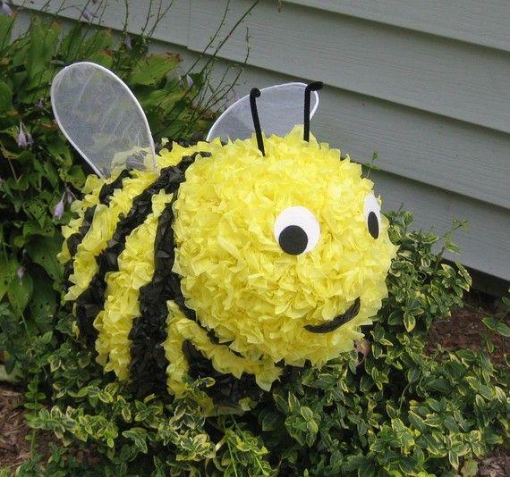 Bumble Bee Birthday Party Ideas Pinata