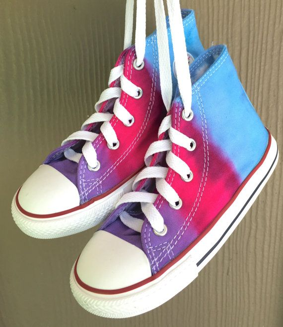 8de8e1aa2638 Tie+Dyed+Converse+Infant Toddler+Shoes++by+AllBottledUpTieDyes ...