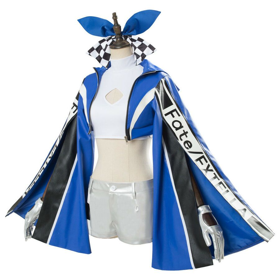 Fate//EXTELLA EXTRA Racing Tamamo no Mae Outfit Cosplay Costume Outfit New