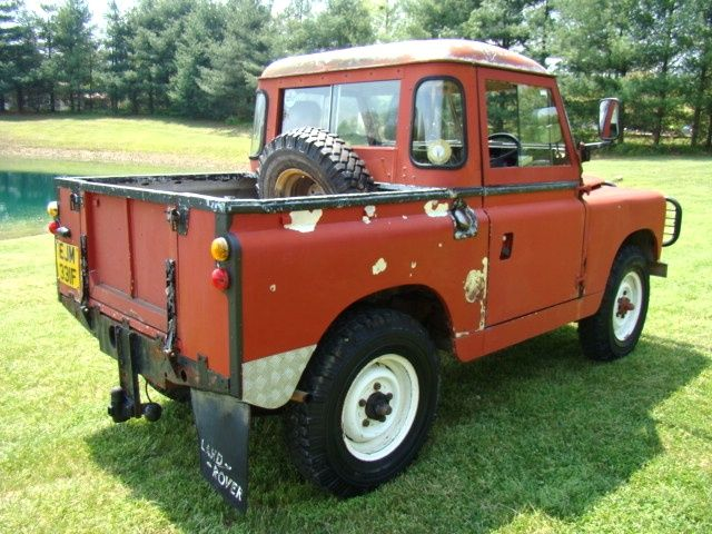 1967 Land Rover Pickup Series Ii A 4x4 Sale Pending Land