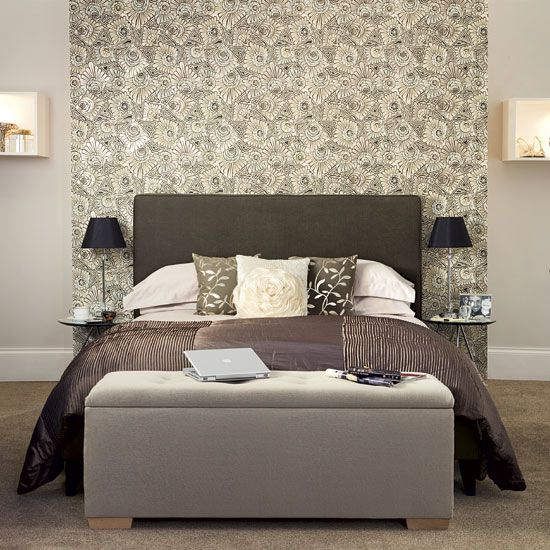Bedroom design ideas - 5 steps to hotel style | False wall ...
