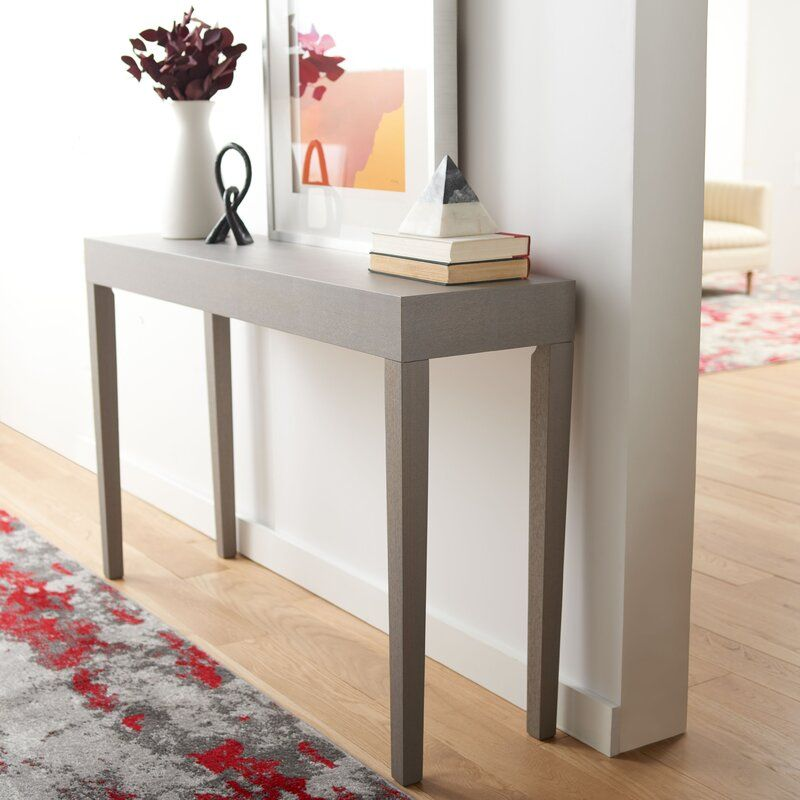 Brayden Studio Kadyn 51 2 Console Table Reviews Wayfair Console Table Colored Dining Chairs Table