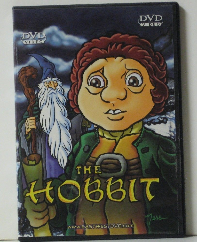 The Hobbit 1977 Animated Feature DVD EastWestDVD Release