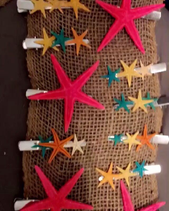 Seastar clips for my little mermaids
