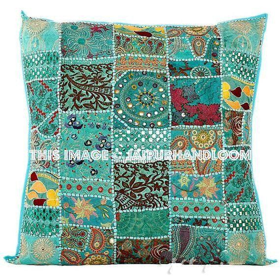 Turquoise Throw Pillows Decorative