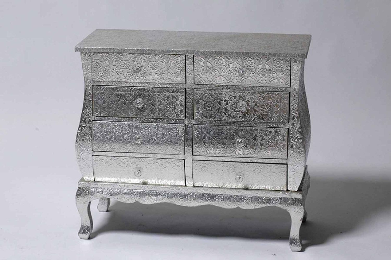 Best Silver Embossed Double Chest Of Drawers By 400 x 300