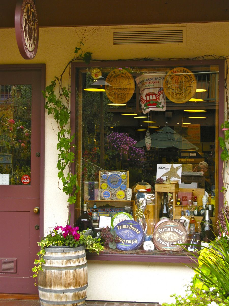 cheese shop in Carmel Plaza in Carmel, California Carmel